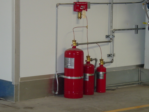 Paint Spray Booth Fire Suppression Systems Installation